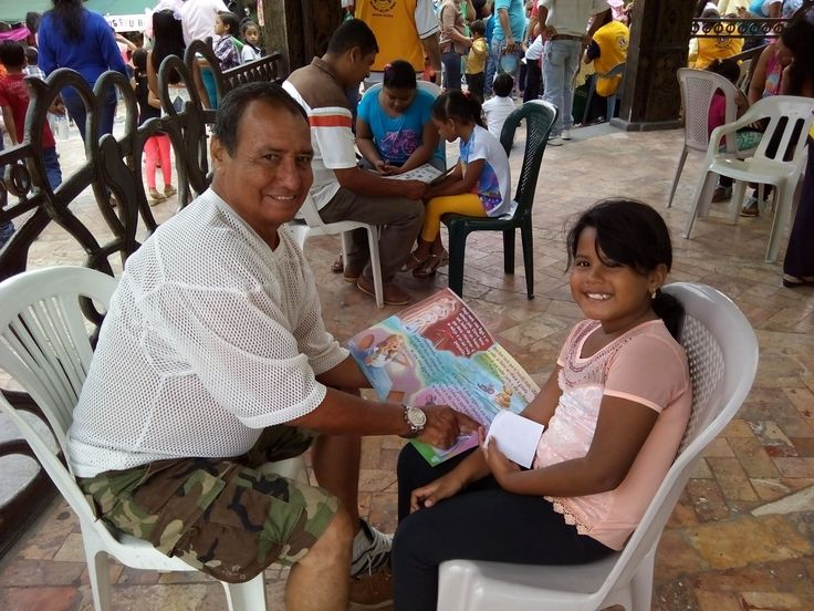 Milagro Melvin Jones #LionsClub (Ecuador) held their 4th Reading Action Program event for children and parents