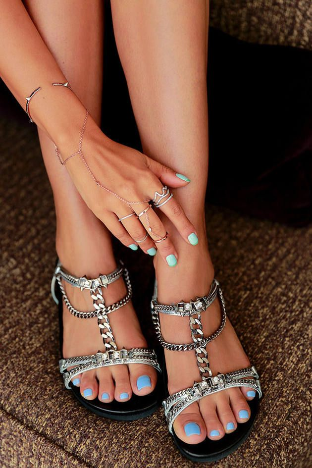 Barbara Bui Silver Chain Embellished Footbed Flat Sandals  # #Vivaluxury #Summer Trends #Women's Fashionista #Best Of Summer Apparel #Barbara Bui #Flat Sandals Footbed #Footbed Flat Sandals #Footbed Flat Sandals Silver #Footbed Flat Sandals Barbara Bui #Footbed Flat Sandals Chain Embellished #Footbed Flat Sandals Clothing #Footbed Flat Sandals 2014 #Footbed Flat Sandals OOTD #Footbed Flat Sandals How To Style