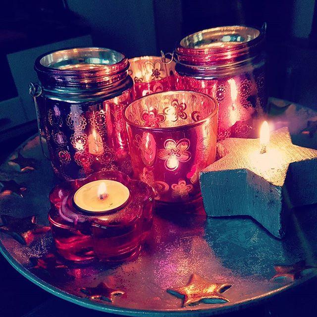 November Dekoration #candles #love #shine #room #pink #outsidecold #sunday #relax #winterfeelings
