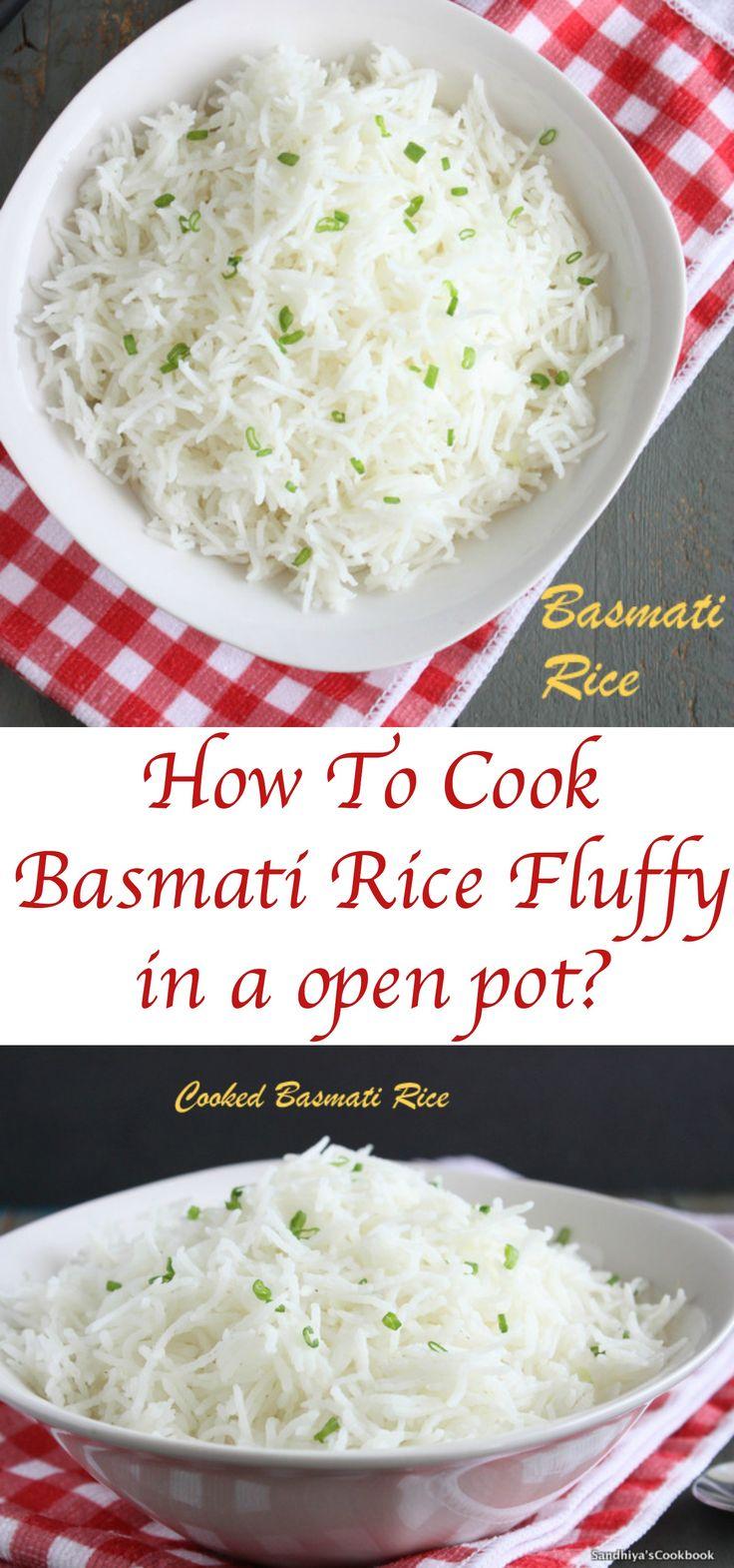how to cook basmati rice in pan
