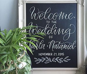 Vancouver-based calligrapher and artist specializing in modern calligraphy, illustration and design for weddings and corporate events.