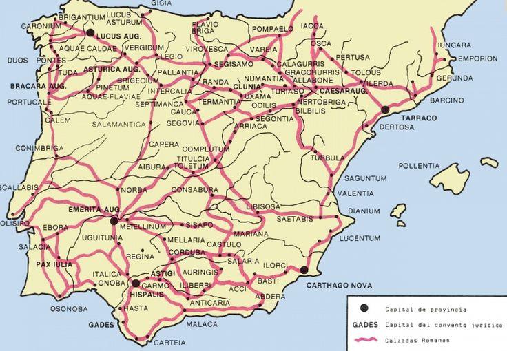 Calzadas romanas Hispania