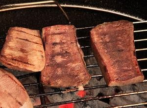 Crispy Grilled Beef Tongue