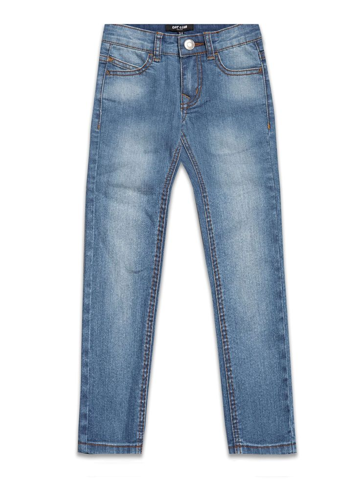 Boys Boutique Cowboy Denim Blue Jeans - Baby Boutique Shop #boys_fashion