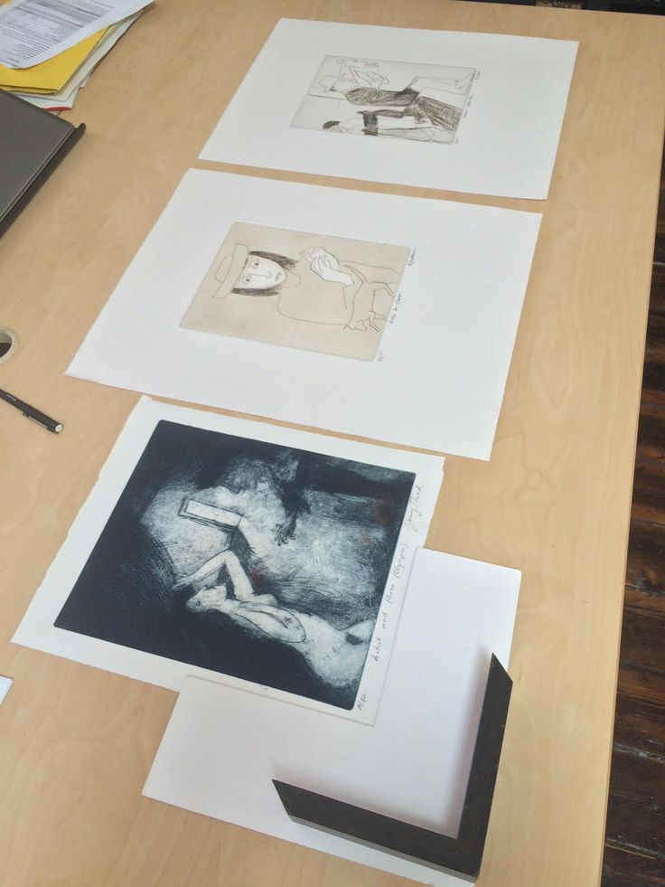 3 Fabulous works on the way to the framer for one of our treasured clients. Everyone's favourite 'Artist and Muse' by Garry Shead, 'Girl and Cat' and 'Park Bench' by Robert Dickerson. An absolutely elegant trio, if you ask us. Framed photos to come soon!  #modernart #australianart #etching #framing #angelatandorifineart