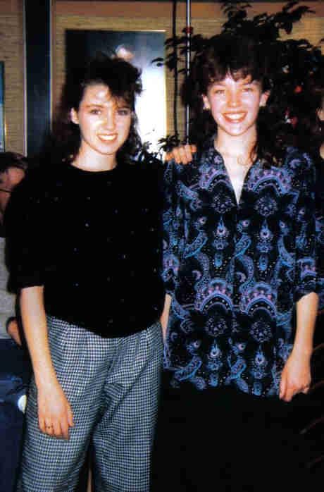 Dannii and Kylie 1985