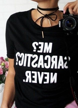 Kup mój przedmiot na #vintedpl http://www.vinted.pl/damska-odziez/koszulki-z-krotkim-rekawem-t-shirty/15322888-fajna-nowa-bluzka-z-nadrukiem