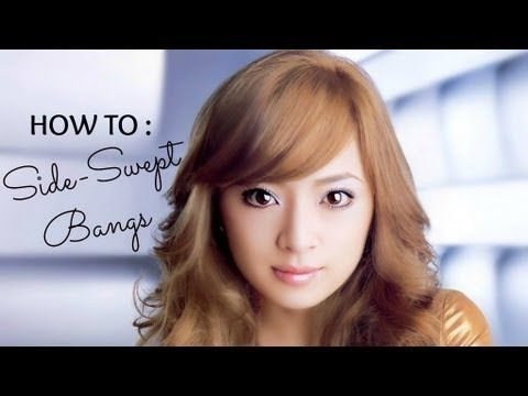 Featured #5 : How to Cut Perfect Side Bangs Tutorial ...