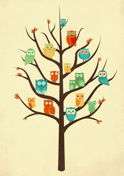 Owl Are Welcome Art Print by Jay Fleck | Society6