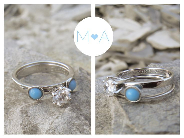 Mi anillo de compromiso! #engagament#beautiful#Turquoise#turquesa #wedding#propose