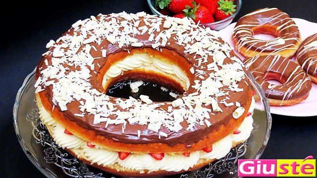 <p>Comment+résister+à+notre+nouvelle+recette+géante+du+Donut+américain+revisité+à+notre+manière,farci+aux+fraises+et+à+la+crême+pâtissière…+Les+gourmands+vont+bien+se+régaler+avec+notre+Donut+géant+!!!+Pour+la+pâte+–+400g+de+farine+Manitoba+–+40g+de+sucre+–+40g+de+beurre+à+température+…</p>