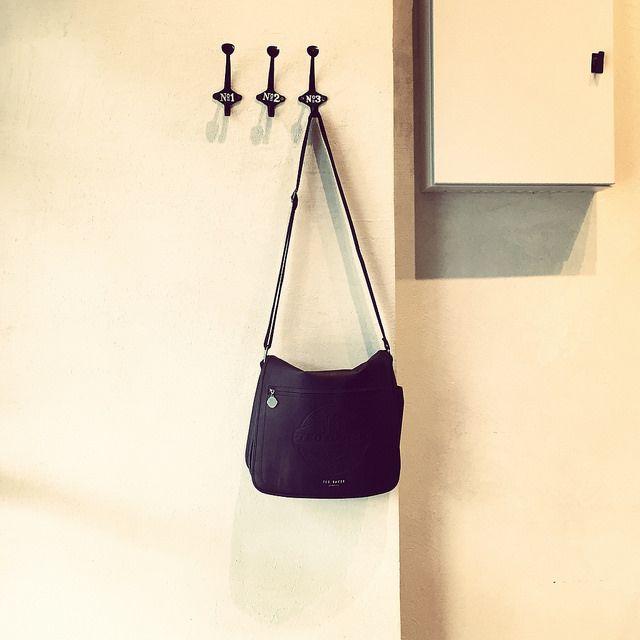 #messenger #bag #wall #hanger #iPhone   by Tryfon Tobias Pliatsikouris