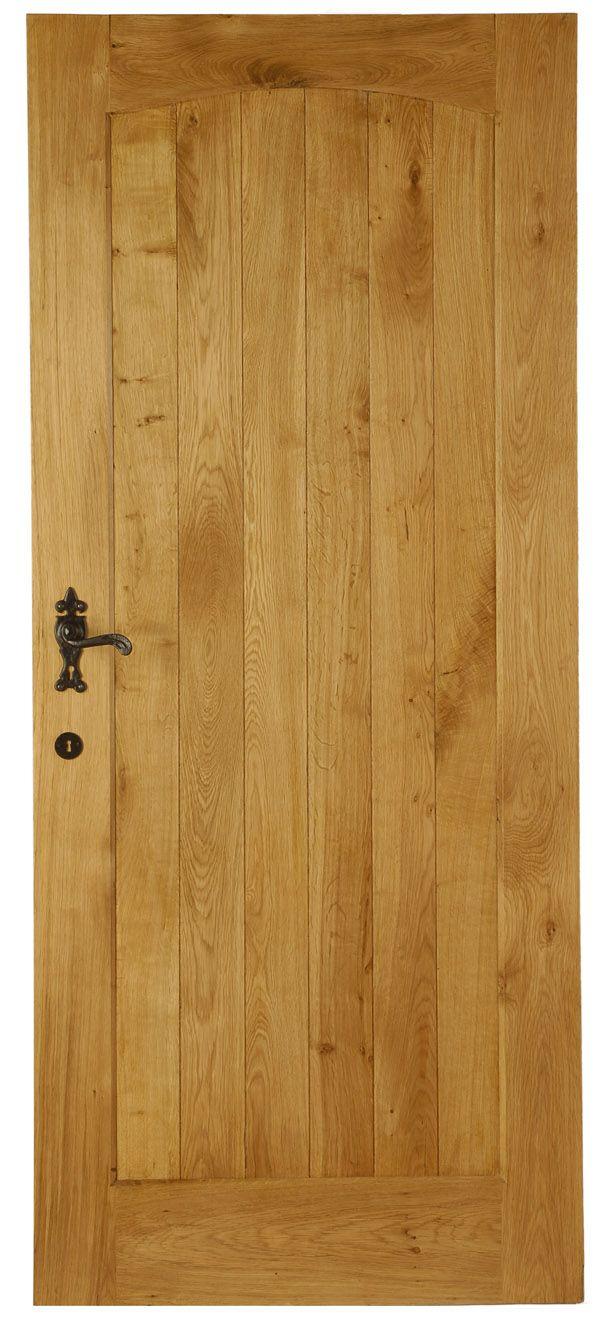 Solid oak cottage external door external oak doors for Solid back doors