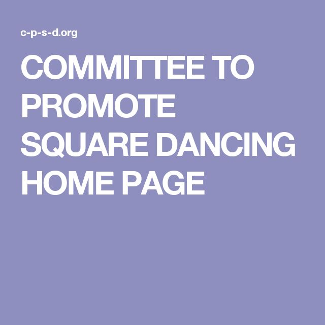 The Committee to Promote Square Dancing (CPSD) is a charity founded in 1999 to  increase community awareness of the social and health benefits of square dancing. The charity actively promotes activities dedicated to the expansion and preservation of square dancing.