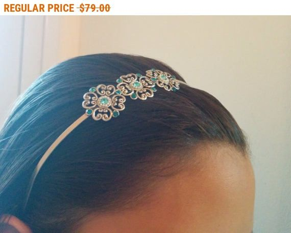 On SALE Delicate Flower Hair Band  Bridal Hair Accessories