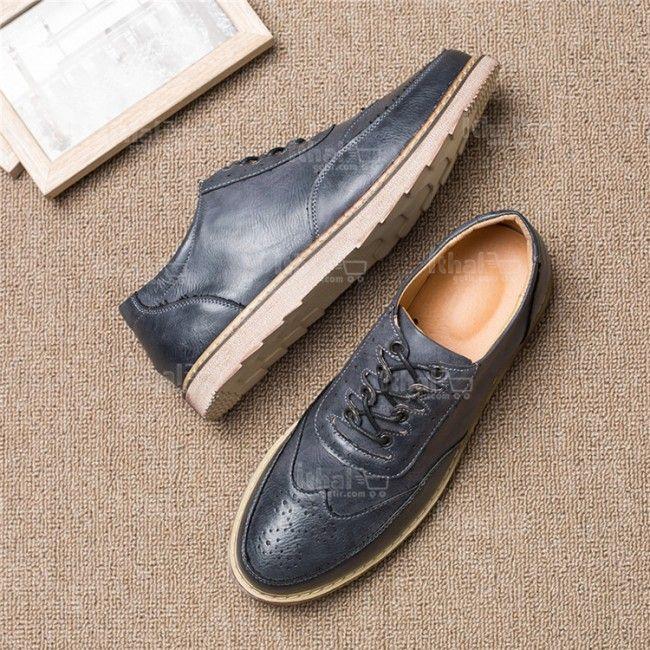 Yüksek Kaliteli Malzemelerden Üretim Moda Erkek Ayakkabı Modelleri - 571582 - 20