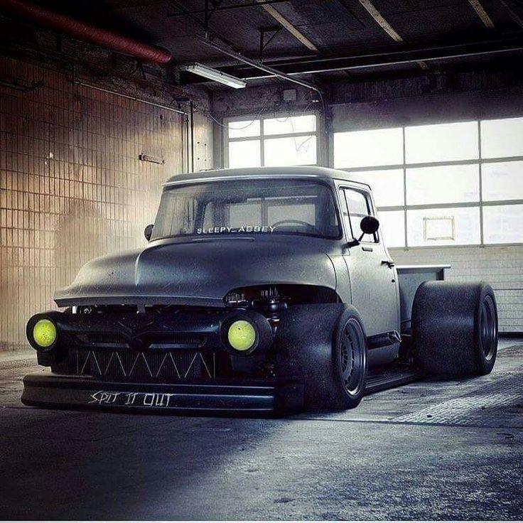 Looks like an F1 Race/Rod Truck - I want one