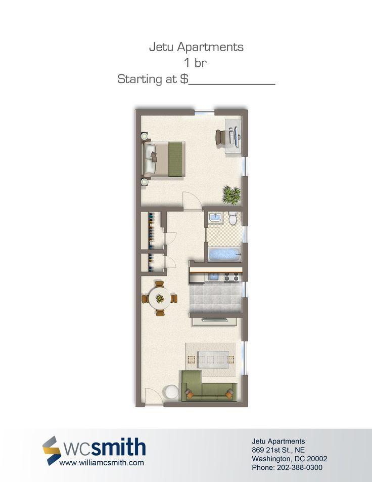 Jetu  Bedroom Floor PlansSims 3One BedroomSmall ApartmentsNcisStudio  ApartmentSmall HomesWashington DcMy House. 24 best Dc images on Pinterest
