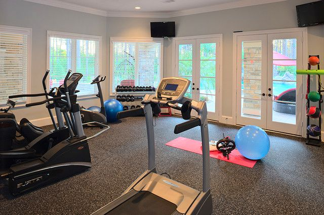 10 best images about design home gym ideas on pinterest for Workout room colors