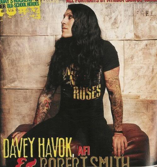 Davey Havok. AFI