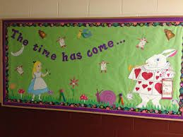 Image result for alice in wonderland classroom theme