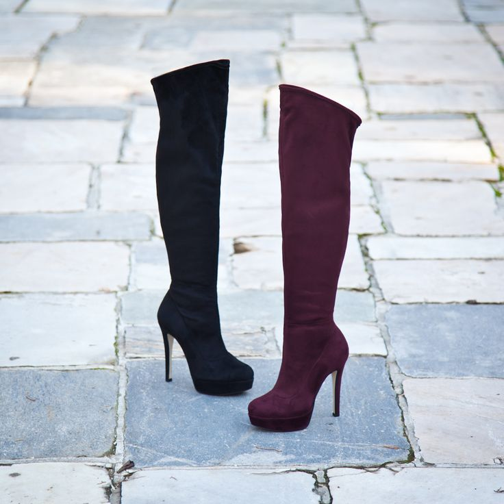 SANTE Over the Knee Boots #santeXMAS #followSANTE #shopSANTE