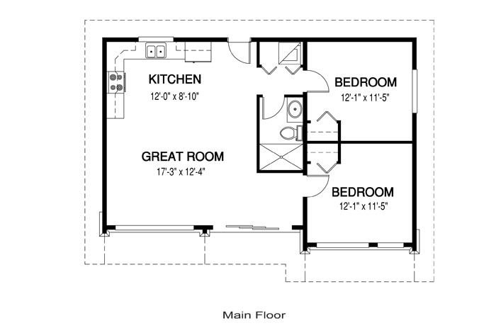 71 Best Images About Floor Plans (under 1000 Sf) On Pinterest
