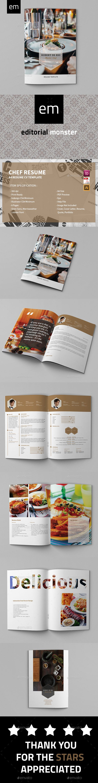 the 25 best chef resume ideas on pinterest
