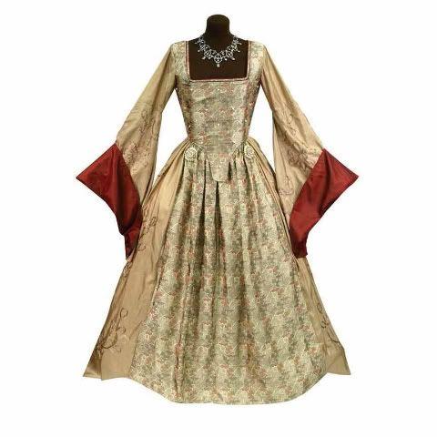 16th Century Dresses | The Anne Boleyn Gown