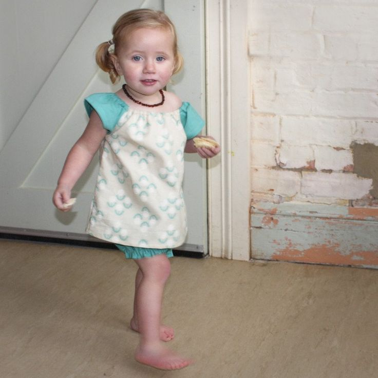 Tootypegs Kids tunic and bubble shorts