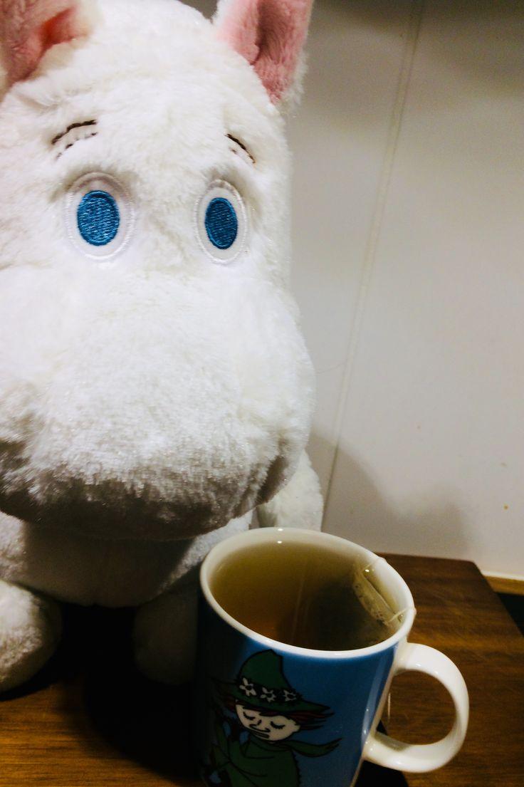 Tea time! #moominmug