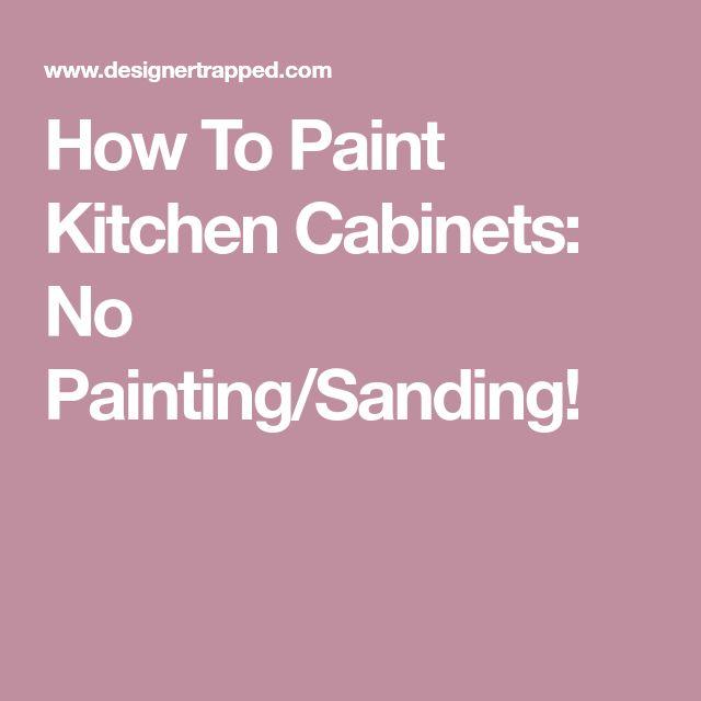 Best 25 Oak Cabinets Redo Ideas On Pinterest Painting
