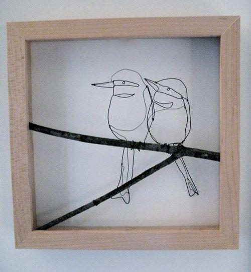 69 Best Wire Birds Images Work Iron And Art Rh Com Telephone Crafts Sculpture
