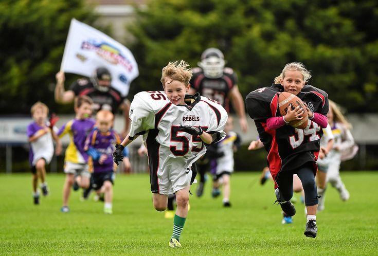 American College Football in Croke Park in 2014 - Croke Park