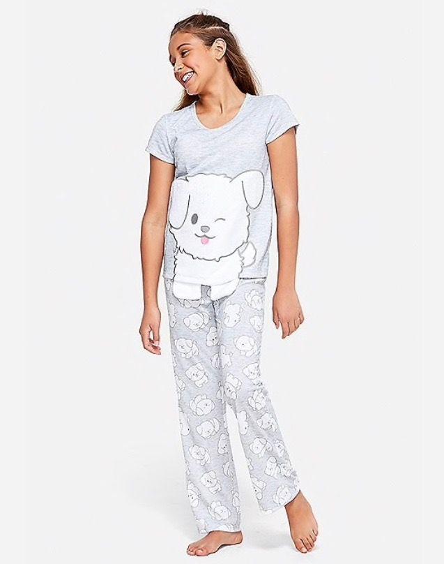ea9c6583fc 🐶Fluffy Puppy Pajama Set🐶 | Justice Sleepwear. | Pajamas, Justice ...