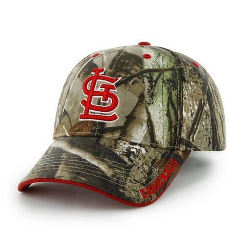 Saint Louis Cardinals St. Realtree Frost Adjustable Hat