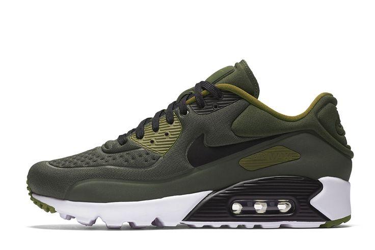 "Nike Air Max 90 Ultra SE ""Cargo Khaki"" to Release in August - EU Kicks: Sneaker Magazine"