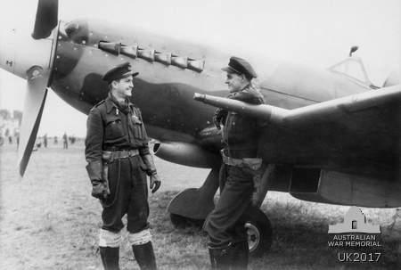Spitfire XIV 130 Sqn RAAF Holland-1944