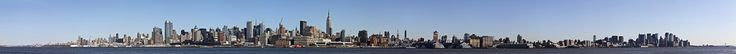 The LONGEST NYC Panoramic you have ever seen. 22000+ pixels long... get lost in it.