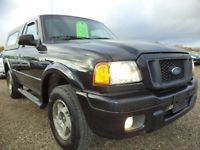 2005 Ford Ranger EDGE-SINGLE CAB-**3.0L V6-5 SPEED**WITH CANOPY