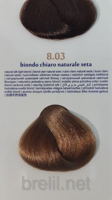 Крем-краска для волос Colorianne Classic 8/03 Натуральный шелковый светлый блондин, фото 1