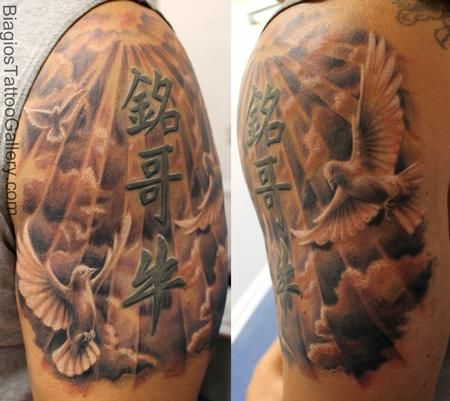 12 best images about heaven gate tattoo on pinterest for Tattoos of heaven