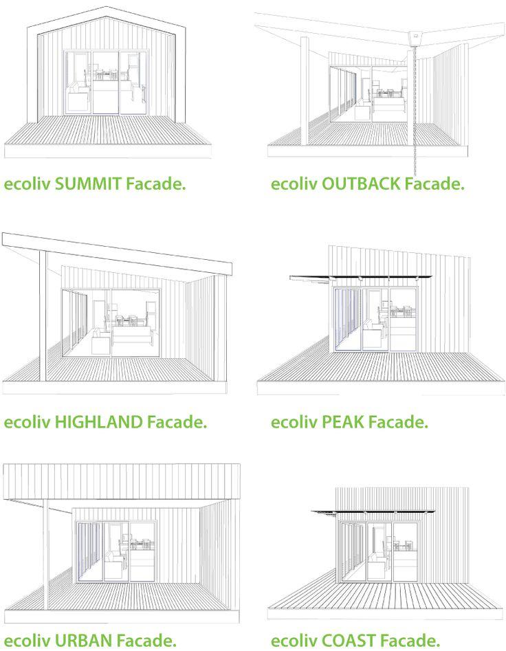 Facades - Ecoliv Modular Homes