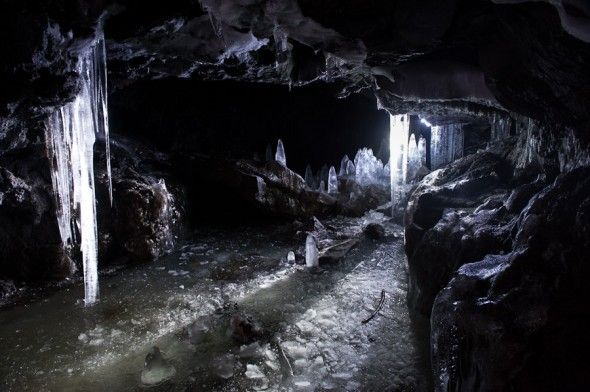 Guler Ice Caves at Gifford Pinchot National Forest