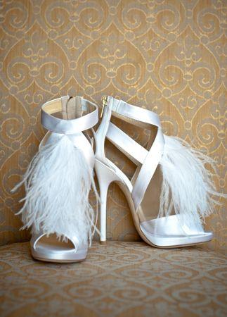 White, Jimmy Choo Shoes...yes please!