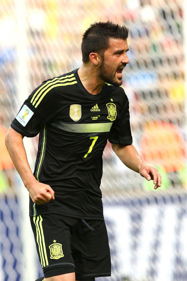 David Villa - Spain |