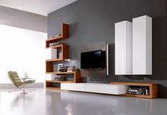 Image result for modern wooden tv units
