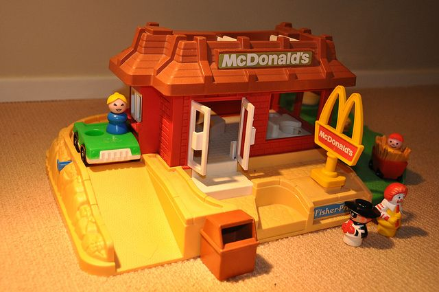 How many of us got addicted to McDonald's before we could actually buy the food?