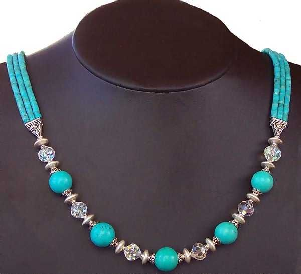 beaded necklace designs with a focal bead | Gallery of Our ...