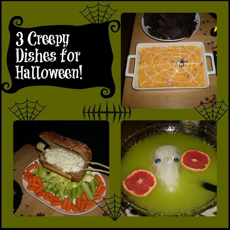 Creepy Foods For Halloween Party
